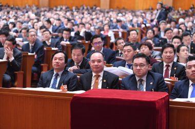 华源会成员为王泉成会长列席全国政协会议作诗祝贺